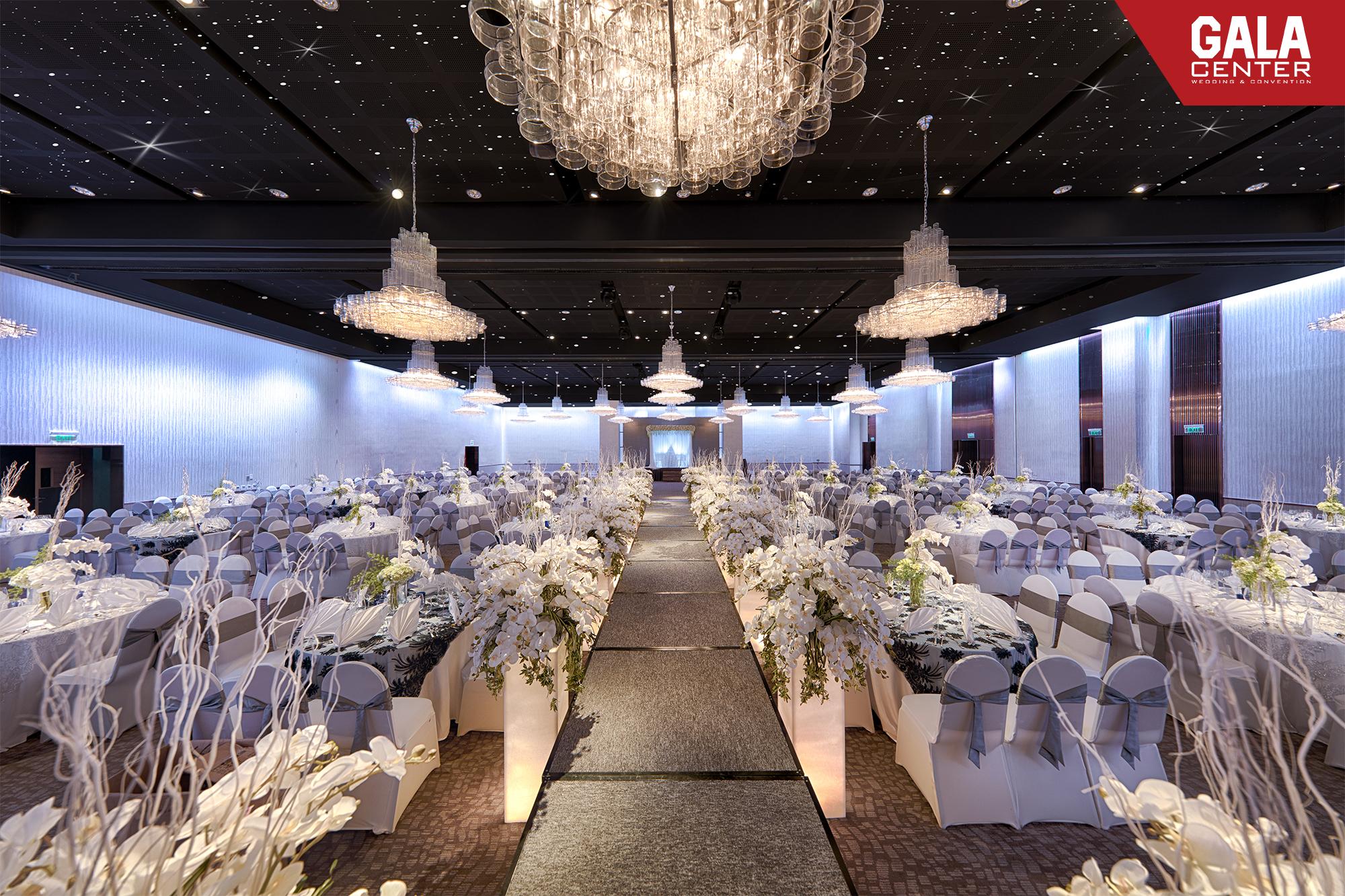 tiệc cưới gala center