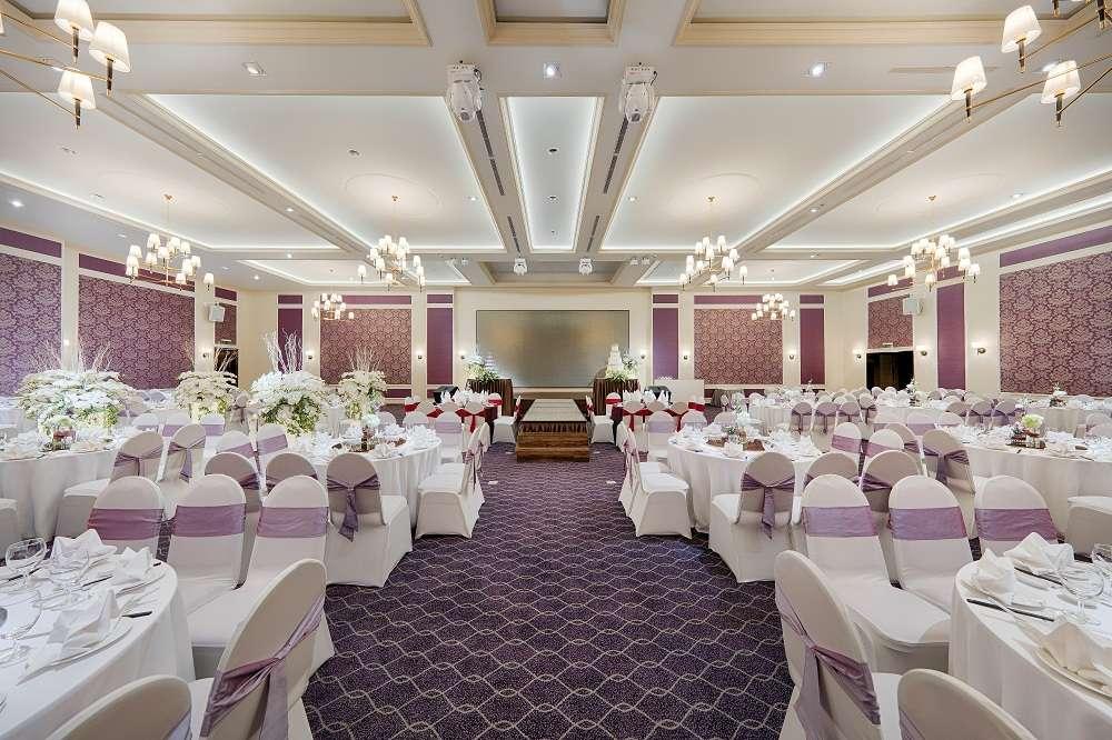 Sảnh Spring của địa điểm tổ chức tiệc cưới quận Tân Bình Gala Center