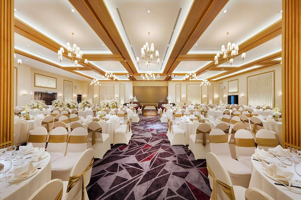Sảnh Summer ấm cúng của địa điểm tổ chức tiệc cưới quận Tân Bình