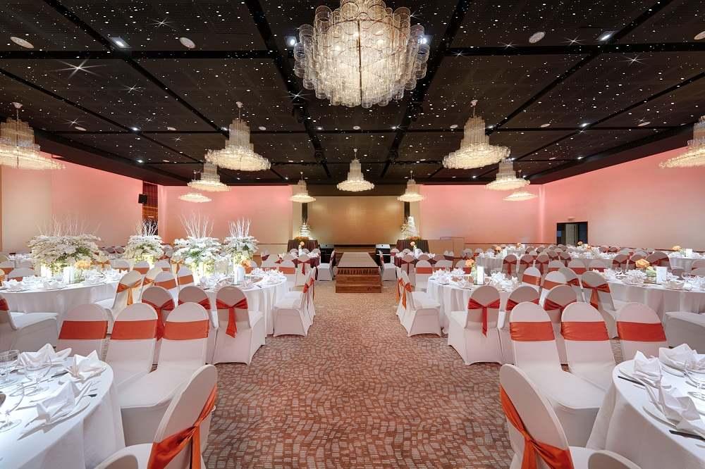 Sảnh Autumn của địa điểm tổ chức tiệc cưới quận Tân Bình