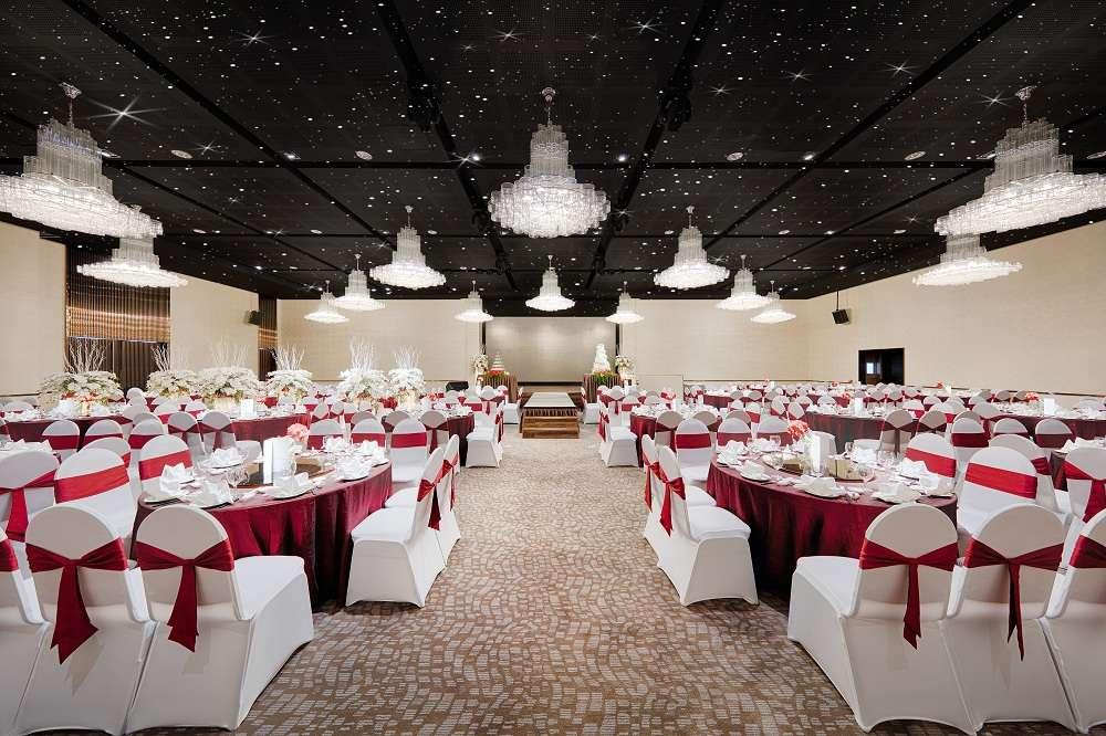 Sảnh Winter của địa điểm tổ chức tiệc cưới quận Tân Bình Gala Center