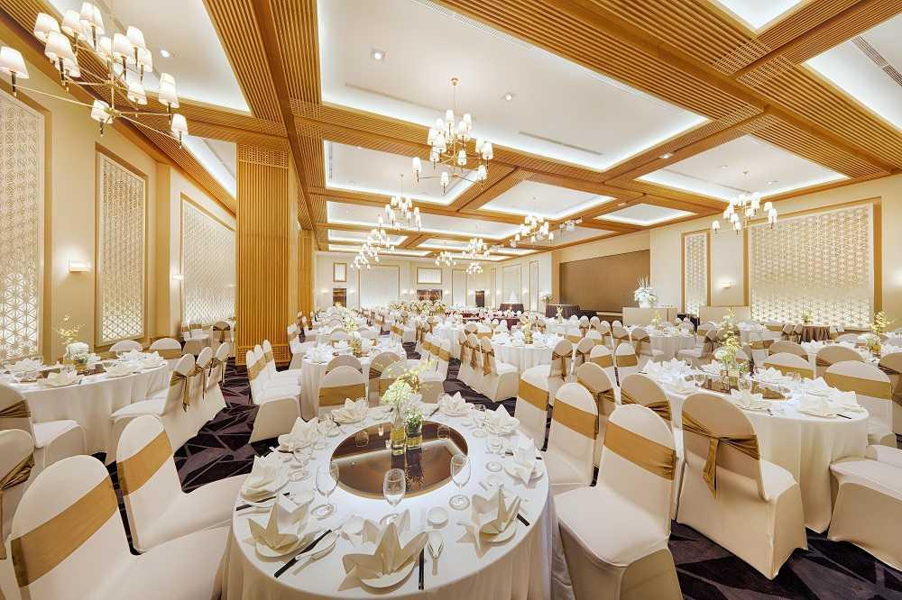 Sảnh Summer tại trung tâm hội nghị tiệc cưới Tân Bình Gala Center