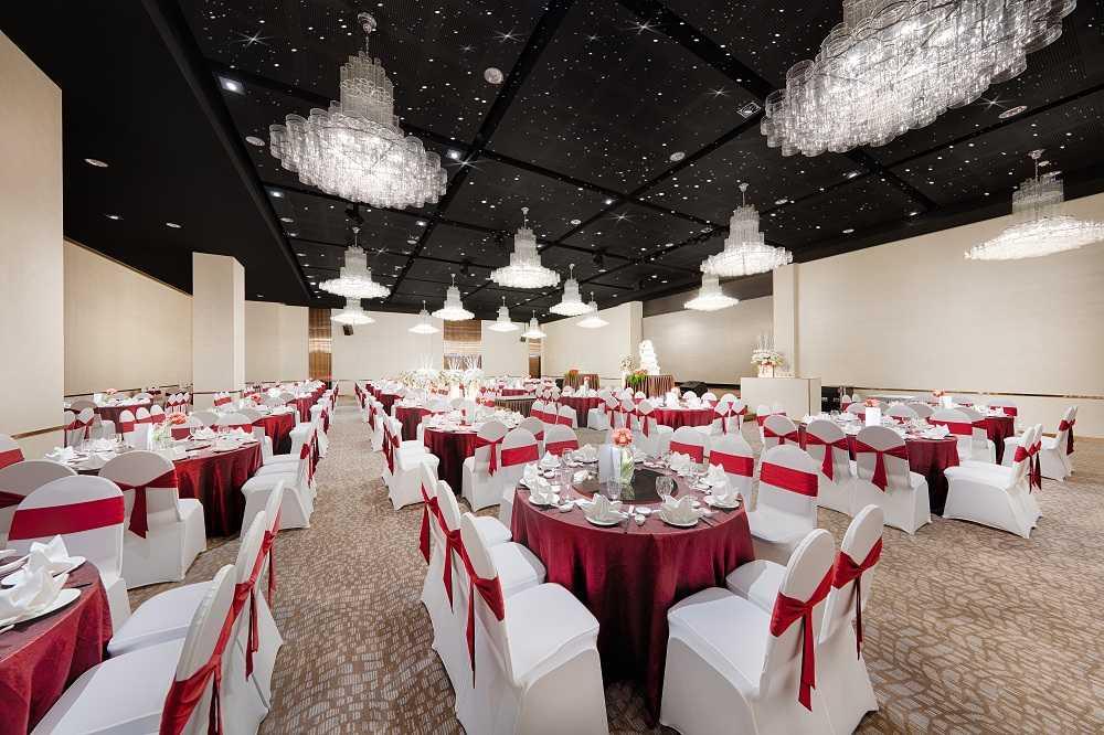 Sảnh Winter tại trung tâm hội nghị tiệc cưới Tân Bình Gala Center