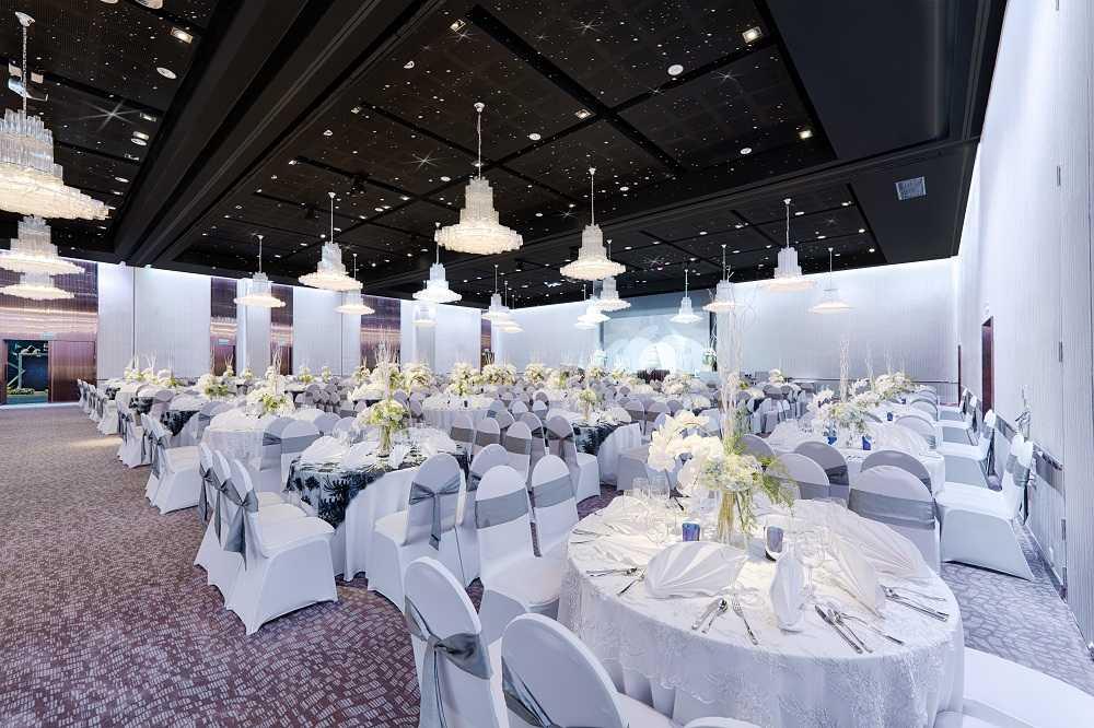 Sảnh Festive tại trung tâm hội nghị tiệc cưới Tân Bình Gala Center