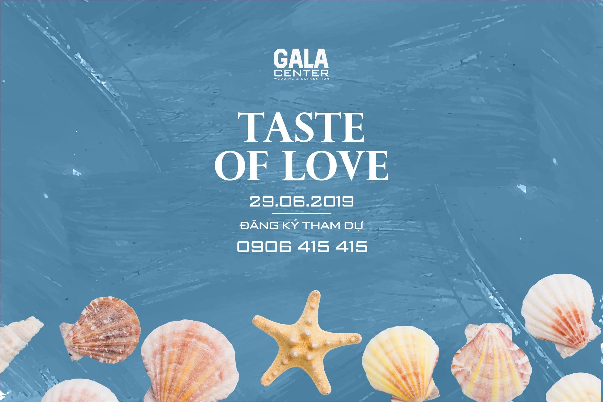 tiệc thử món Gala Center