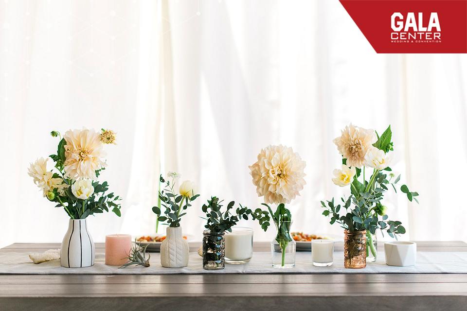 bàn gallery nến thơm