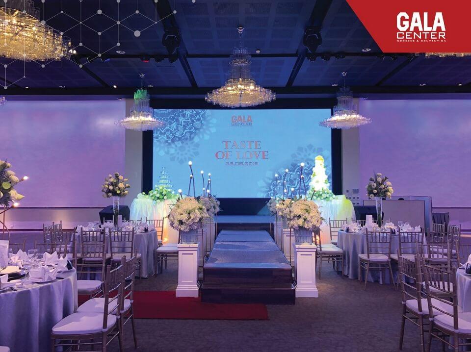 Tiệc thử món tại Gala Center