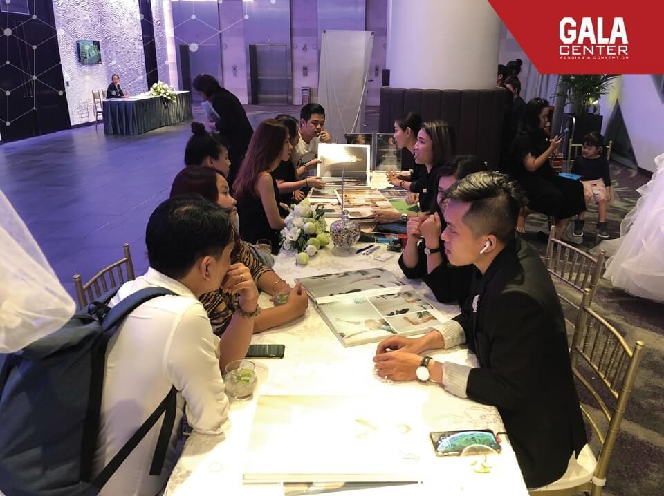 sự kiện tiệc thử món tại Gala Center