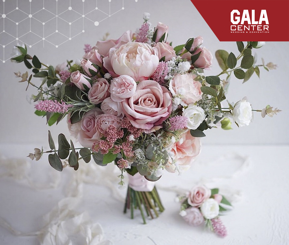 hoa cưới mẫu đơn