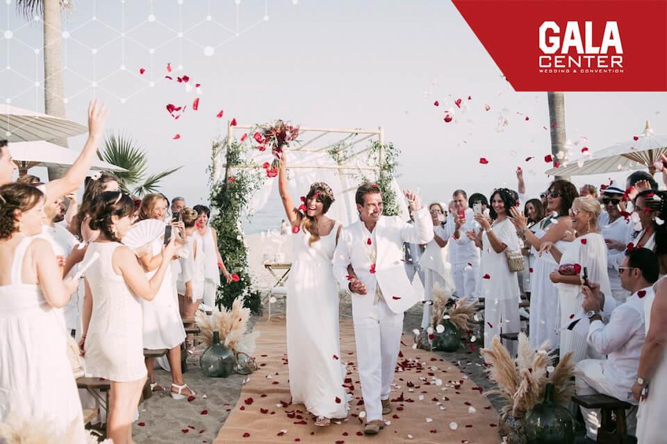 Những sắc màu lung linh cho tiệc cưới bốn mùa 1