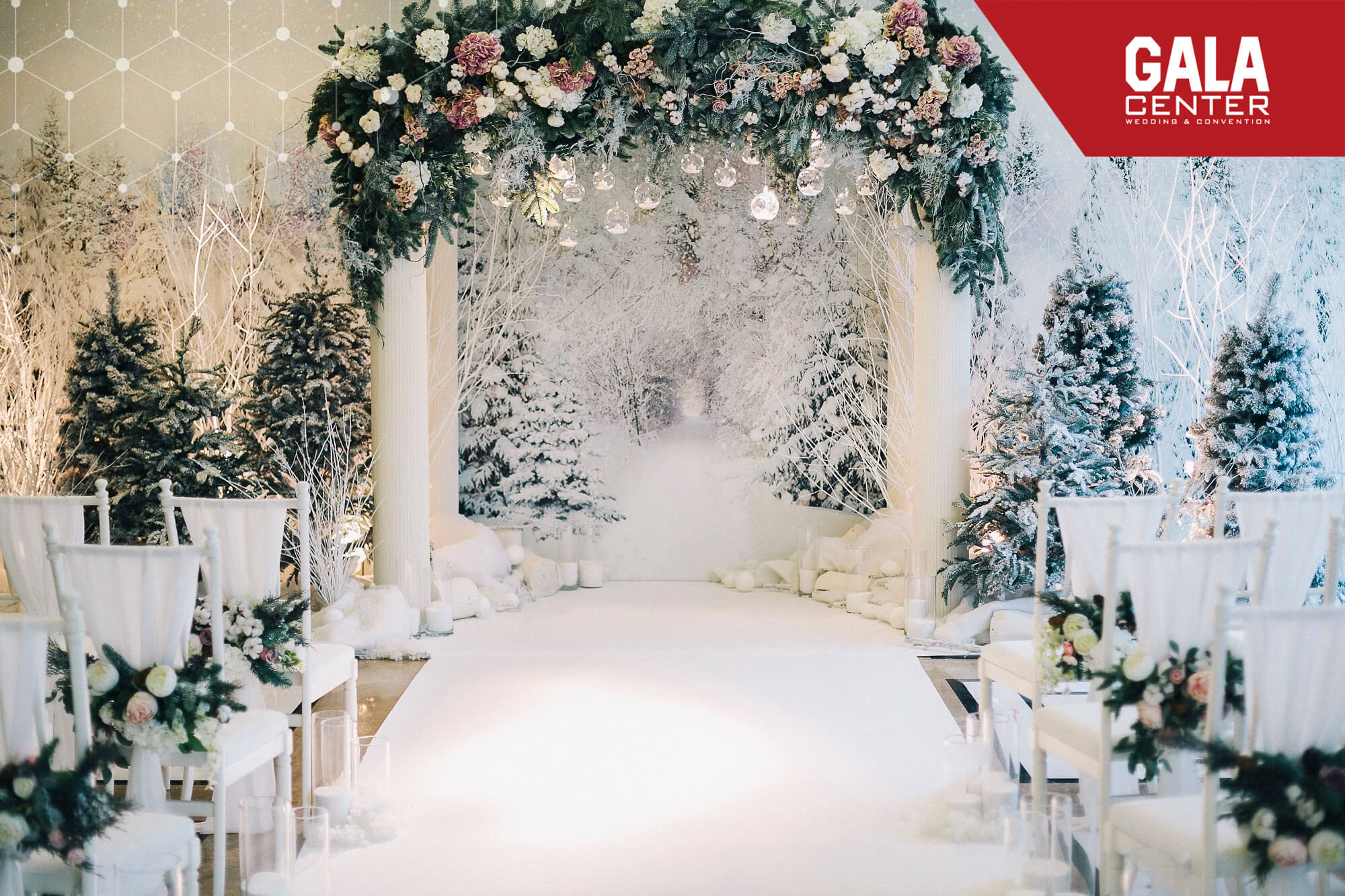 Trang trí tiệc cưới theo mùa trong năm