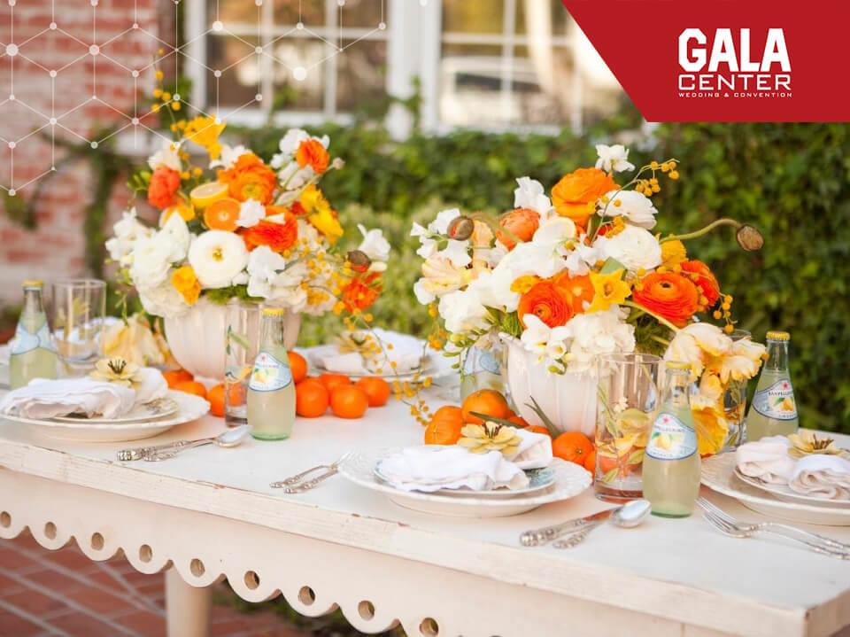 Những sắc màu lung linh cho tiệc cưới bốn mùa 2