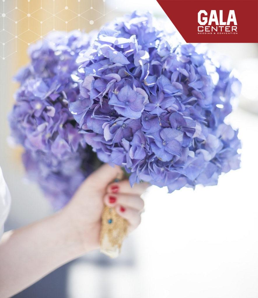 hoa cưới cẩm tú cầu tình yêu bền chặt
