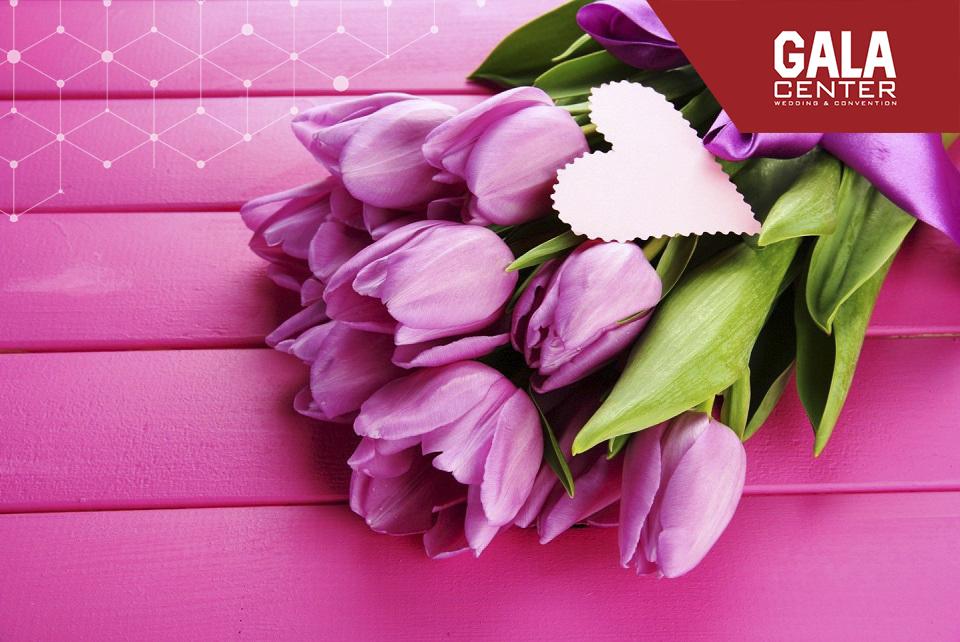 hoa cưới tulip tình yêu sung túc