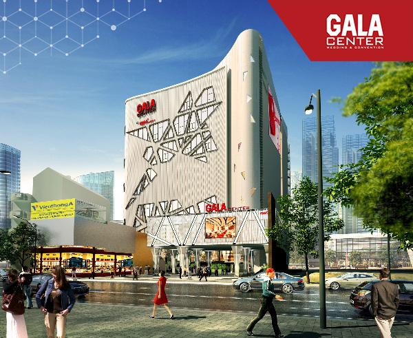 Gala Center tọa lạc ở vị trí vô cùng thuận lợi để có thể thu hút được sự quan tâm của khách hàng