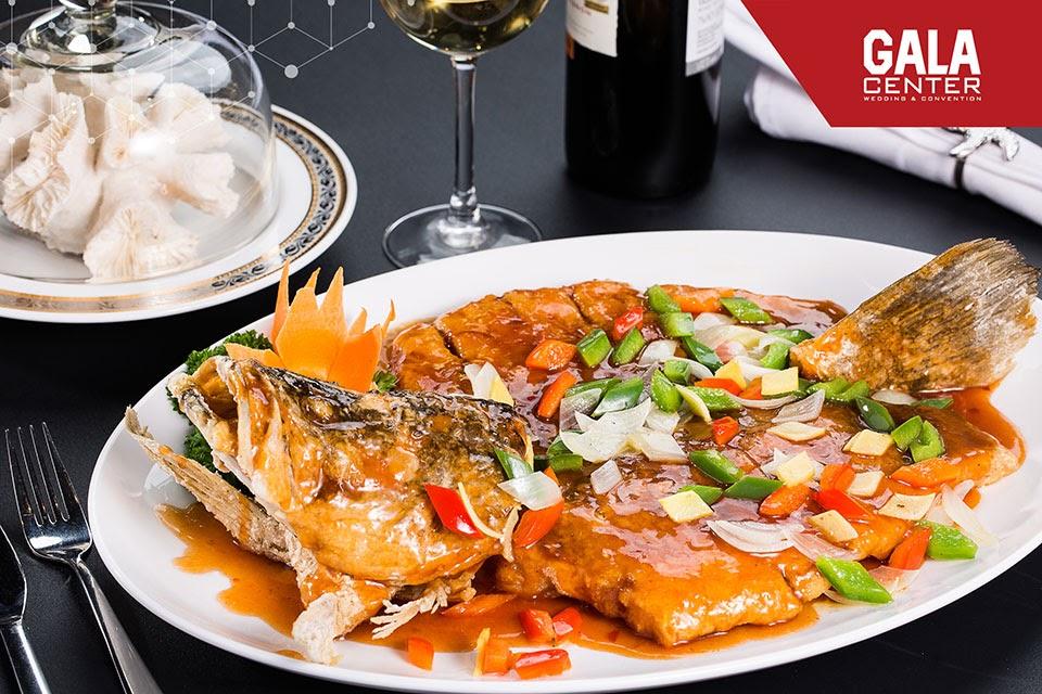 Các món ăn vừa ngon miệng, vừa đẹp mắt đến từ nhà hàng quận tiệc cưới quận Tân Bình - Gala Center