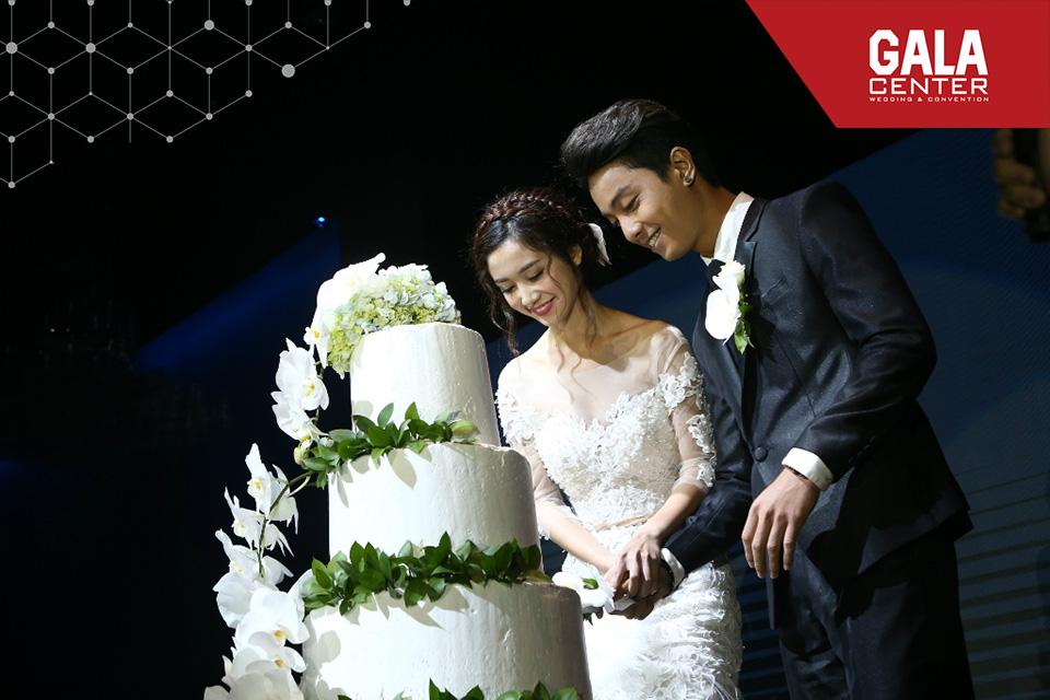 Các chương trình, sự kiện đặc sắc được thiết kế riêng theo nhu cầu của cô dâu, chú rể tại nhà hàng tiệc cưới Gala Center
