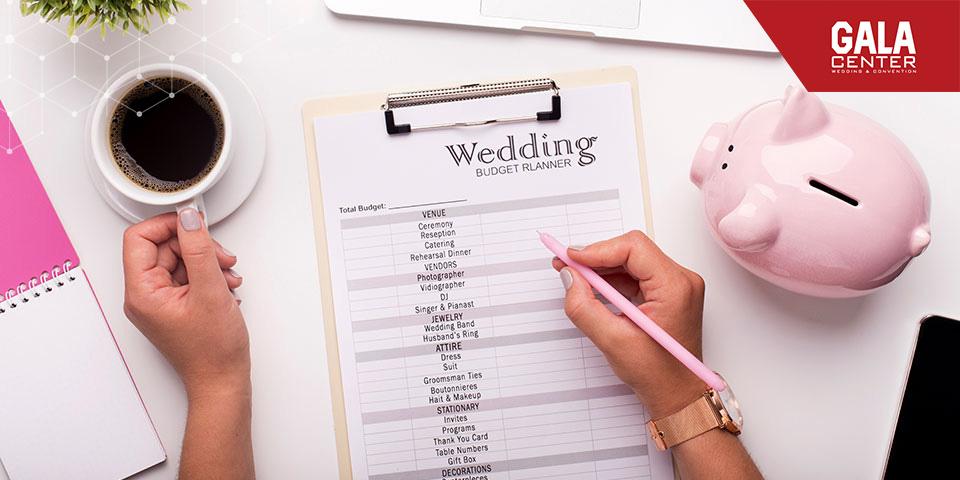 Xác định ngân sách cưới sẽ khiến cho mọi việc trở nên dễ dàng và suôn sẻ hơn