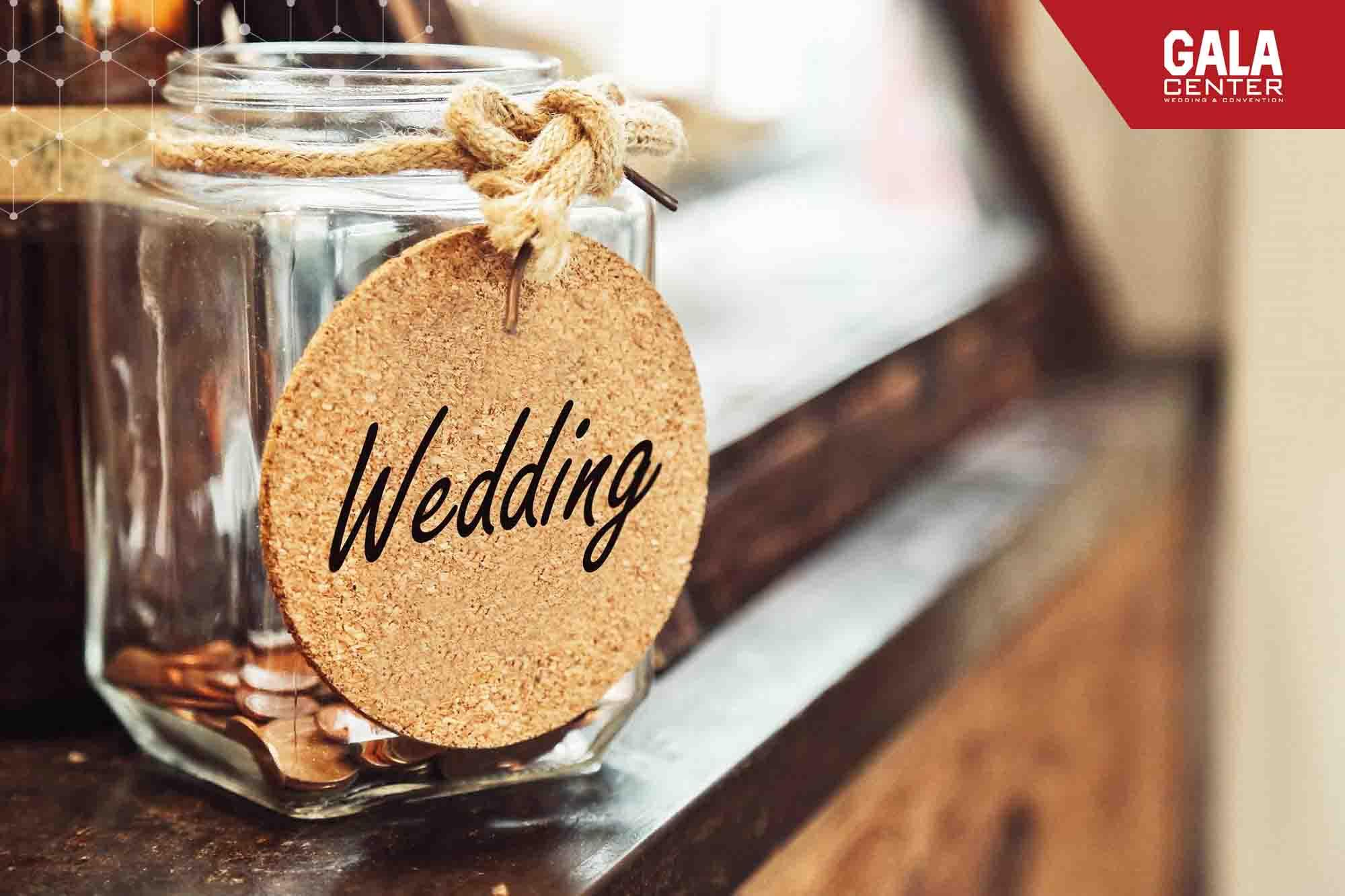 tiết kiệm khi tổ chức đám cưới